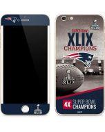 Patriots Super Bowl XLIX Champs iPhone 6/6s Plus Skin