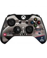 Patriots Super Bowl XLIX Champs Xbox One Controller Skin