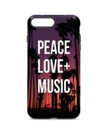 Peace Love And Music iPhone 7 Plus Pro Case
