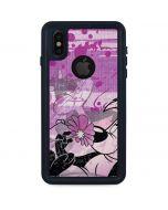 Pepe Le Pew Purple Romance iPhone XS Waterproof Case