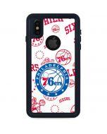 Philadelphia 76ers Blast iPhone X Waterproof Case