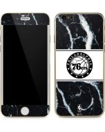 Philadelphia 76ers Marble iPhone 6/6s Skin