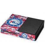 Philadelphia 76ers Red Digi Camo Xbox One Console Skin