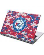 Philadelphia 76ers Red Digi Camo Yoga 910 2-in-1 14in Touch-Screen Skin