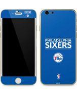 Philadelphia 76ers Standard - Blue iPhone 6/6s Skin