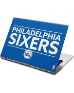 Philadelphia 76ers Standard - Blue Yoga 910 2-in-1 14in Touch-Screen Skin