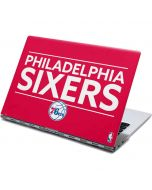 Philadelphia 76ers Standard - Red Yoga 910 2-in-1 14in Touch-Screen Skin