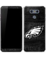 Philadelphia Eagles Black & White LG G6 Skin