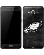 Philadelphia Eagles Black & White Galaxy Grand Prime Skin