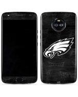 Philadelphia Eagles Black & White Moto X4 Skin