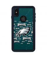 Philadelphia Eagles Blast iPhone X Waterproof Case