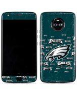 Philadelphia Eagles Blast Moto X4 Skin