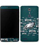 Philadelphia Eagles Blast ZTE ZMAX Pro Skin