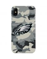 Philadelphia Eagles Camo iPhone XS Max Lite Case