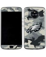 Philadelphia Eagles Camo Moto X4 Skin