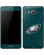 Philadelphia Eagles Distressed Galaxy Grand Prime Skin
