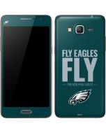 Philadelphia Eagles Team Motto Galaxy Grand Prime Skin