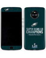 Philadelphia Eagles Super Bowl LII Champions Moto X4 Skin
