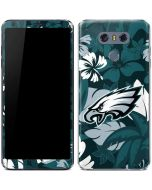 Philadelphia Eagles Tropical Print LG G6 Skin