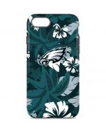 Philadelphia Eagles Tropical Print iPhone 8 Pro Case