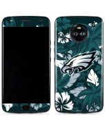 Philadelphia Eagles Tropical Print Moto X4 Skin