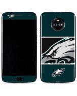 Philadelphia Eagles Zone Block Moto X4 Skin