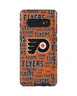 Philadelphia Flyers Blast Galaxy S10 Plus Pro Case