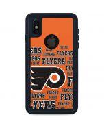 Philadelphia Flyers Blast iPhone X Waterproof Case