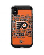 Philadelphia Flyers Blast iPhone XS Max Cargo Case