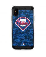 Philadelphia Phillies Digi Camo iPhone XS Max Cargo Case