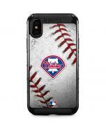 Philadelphia Phillies Game Ball iPhone XS Max Cargo Case
