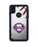 Philadelphia Phillies Game Ball iPhone XS Waterproof Case