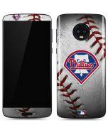 Philadelphia Phillies Game Ball Moto G6 Skin