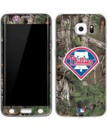Philadelphia Phillies Realtree Xtra Green Camo Galaxy S6 Edge Skin