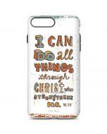 Philippians 4:13 White iPhone 7 Plus Pro Case