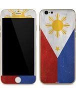 Philippines Flag Distressed iPhone 6/6s Skin
