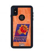 Phoenix Suns Hardwood Classics iPhone XS Waterproof Case