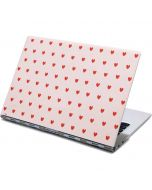 Pink and Red Hearts Yoga 910 2-in-1 14in Touch-Screen Skin