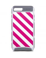 Pink and White Geometric Stripes iPhone 8 Plus Cargo Case