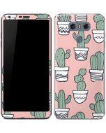 Pink Cactus LG G6 Skin