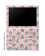 Pink Cactus Galaxy Book 12in Skin
