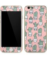 Pink Cactus iPhone 6/6s Skin