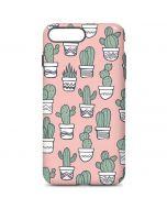 Pink Cactus iPhone 7 Plus Pro Case