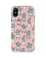 Pink Cactus iPhone X Pro Case