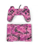 Pink Camouflage PlayStation Classic Bundle Skin