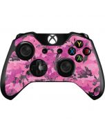 Pink Camouflage Xbox One Controller Skin