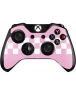 Pink Checkerboard Xbox One Controller Skin