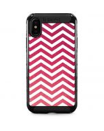 Pink Chevron iPhone XS Max Cargo Case