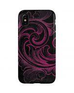 Pink Flourish iPhone X Pro Case