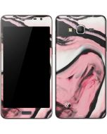 Pink Marble Ink Galaxy Grand Prime Skin